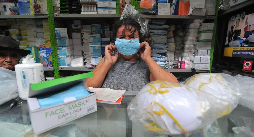 La propagación mundial del coronavirus ha generado en el Perú que se incremente la venta de mascarillas. (Foto: Diana Marcelo)
