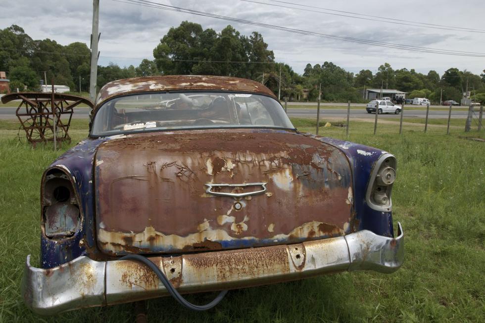 ¿Cómo evitar que mi carro se convierta en chatarra tan rápido? A continuación, algunos consejos (Foto: AFP)