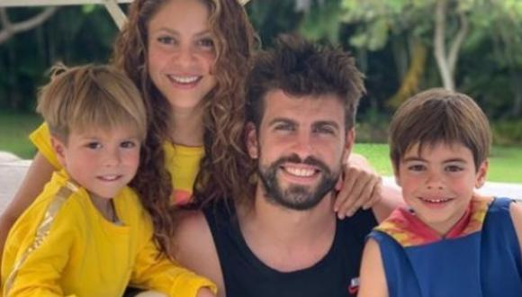 Shakira presume prenda que le diseñó su hijo Milán durante la cuarentena (Foto: Instagram)