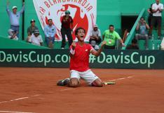 Perú clasificó al Grupo Mundial I de la Copa Davis: Juan Pablo Varillas cerró la llave contra Suiza