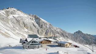 Alemania: mantienen cerrada la estación de esquí de Zugspitze a causa de la pandemia