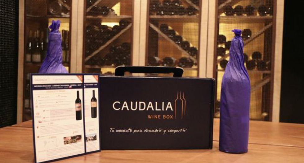 Presentación de Caudalia Wine Box.