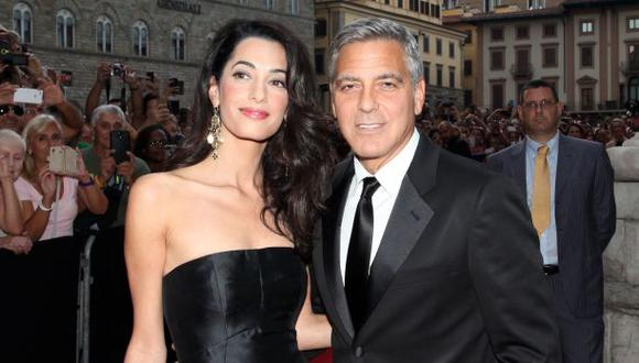 George Clooney se casará en Italia en dos semanas
