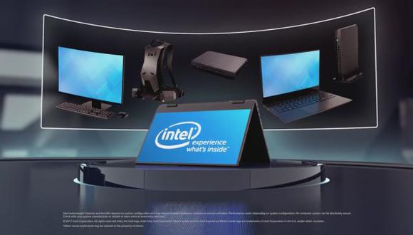 Chip será para portátiles de Intel con gráficos de AMD. (Foto: Captura de YouTube)