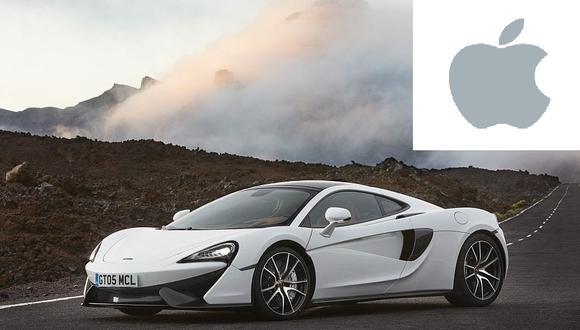 McLaren niega estar en negociaciones con Apple