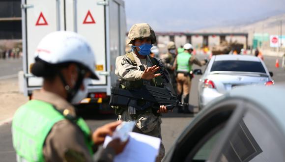 Personal policial y militar que labora en la lucha contra la pandemia del COVID-19 recibirá un bono extraordinario. (Foto: GEC)