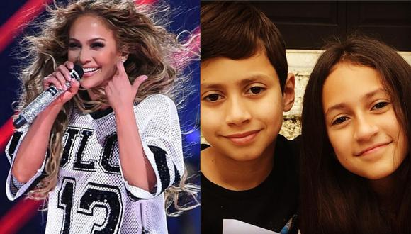 Jennifer Lopez comparte tierno video de sus hijos. (Foto: Captura Instagram)