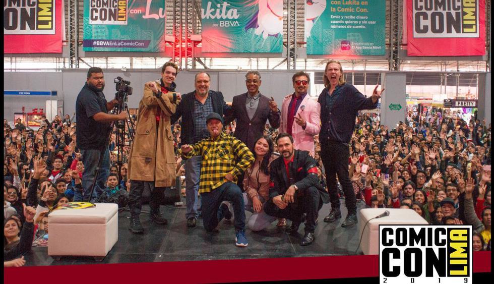 Comic Con Lima: Jason David Frank, Giancarlo Espósito y Temuera Morrison marcaron día histórico del evento. (Foto: Facebook oficial de Comic Con Lima)