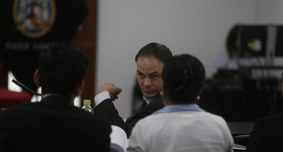 """El esposo de Keiko Fujimori pidió al juez """"emitir una resolución netamente jurídica, técnica y justa"""". (Foto: Mario Zapata/ GEC))"""
