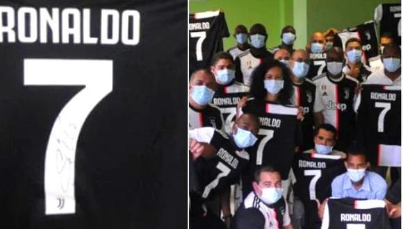 Cristiano Ronaldo tuvo gran gesto con personal médico que lucho contra coronavirus