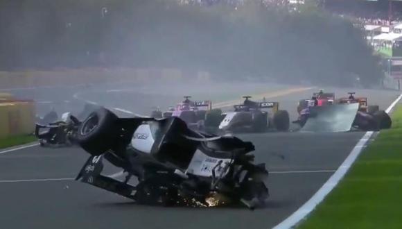 Anthoine Hubert hizo su debut este año en la Fórmula 2. (Foto: Caputura)