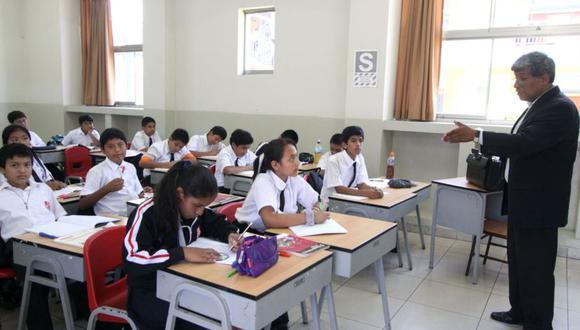 El 60% de estudiantes peruanos de 15 años no entiende lo que lee, el 68,5% tiene problemas en ciencia y el 74,6% en matemáticas (Foto: Andina)