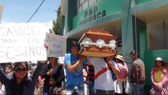 Huancayo: familia de joven muerto tras golpiza exige justicia