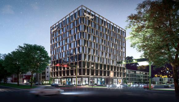 El edificio Time Aurora contará con 10 niveles para comercios, consultorios médicos y Oficinas Boutique.