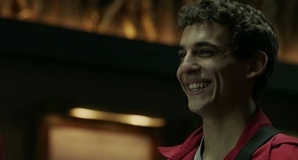 """Miguel Herrán interpreta a 'Río' en """"La Casa de Papel""""."""