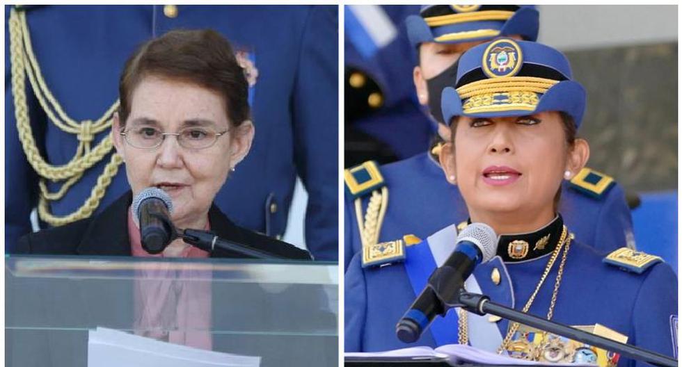 Alexandra Vela y Tannya Varela están al frente de la seguridad de Ecuador. (Fotos: Gobierno de Ecuador)