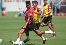 Selección peruana disputó un partido de práctica con tres anotaciones de Alex Valera