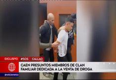 Callao: capturan a presunta familia dedicada a la venta de droga