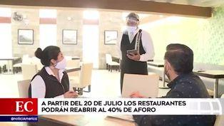 Conoce cómo será la atención en los restaurantes