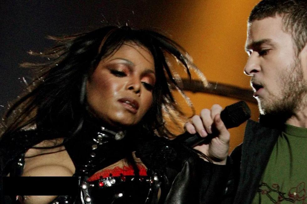 Recordando el 'nipplegate', incidente protagonizado por Janet Jackson y Justin Timberlake que ocurrió durante el Super Bowl 2004. (Foto: Reuters)