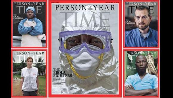 Personaje del 2014 para Time: Sanitarios que combaten el ébola