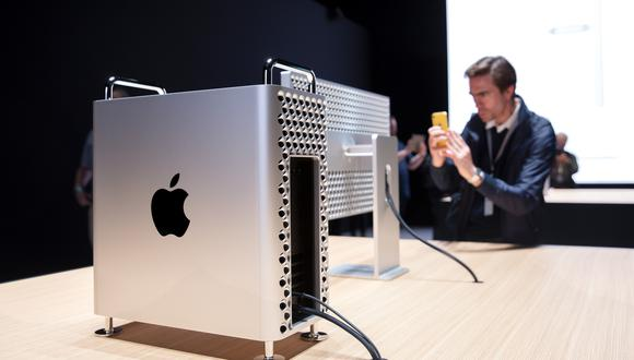 La nueva Mac Pro fue presentada en junio. (Foto: AFP)