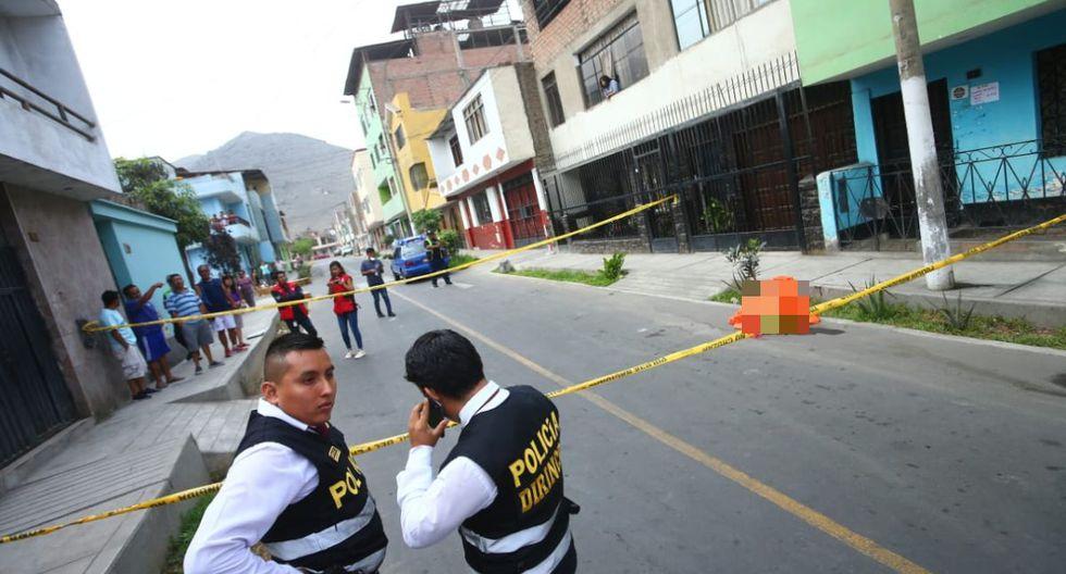 Arturo Casquino Rosas había salido de su vivienda rumbo a su trabajo. (Foto: Gonzalo Córdova/GEC)