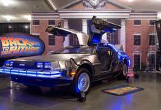 """""""Volver al futuro"""": Ron Cobb, diseñador del mítico DeLorean, muere a los 83 años"""