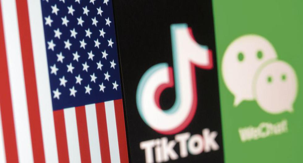 TikTok rechazó el anuncio del Gobierno Estadounidense y dijo que continuará su batalla en los tribunales. WeChat es la otra aplicación china que quedará prohibida. (Ilustración de Reuters / Dado Ruvic)