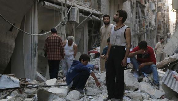 Siria: tres años de guerra han costado US$144.000 millones