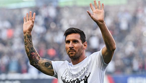 Lionel Messi llegó al París Saint-Germain esta temporada, procedente del Barcelona (Foto: Getty Images)