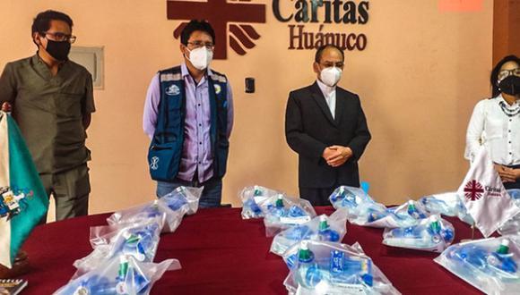 Se donaron 20 ventiladores mecánicos de uso temporal al hospital Hermilio Valdizán de Huánuco | Foto: Oficina de Imagen Institucional del Hospital Regional Hermilio Valdizán