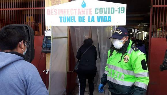 Túneles desinfectantes no son recomendables contra el COVID-19, advierte el Minsa. (Foto: Cortesía a EC)