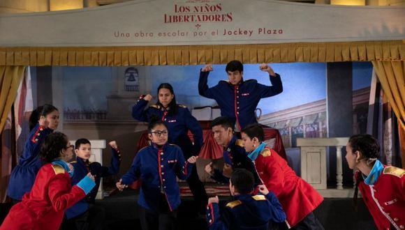 Los niños libertadores declararon al Perú libre del 'bullying' en las escuelas, de la violencia contra la mujer, de la xenofobia y la inequidad (Foto: José Rojas).