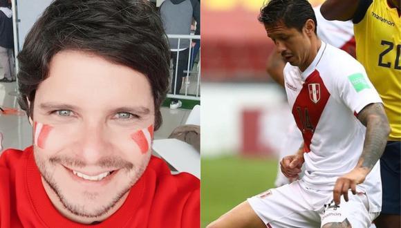 Gian Piero Díaz halaga desempeño de Gianluca Lapadula. (Foto: @gianpierodiazof/@gianluca_lapadula_official).