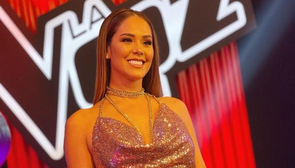 """Karen Schwarz se suma al elenco de """"La Voz Perú"""". (Foto: @karenschwarzespinoza)."""