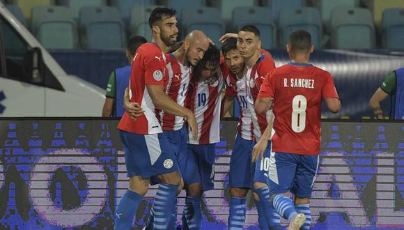 Paraguay encontró el camino y se impuso sobre Bolivia por 3-1 en el inicio de la Copa América 2021. | Foto: AFP