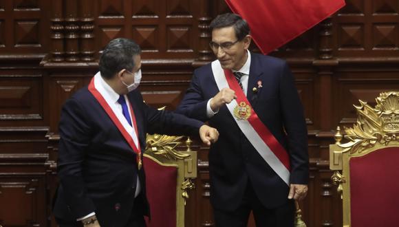 """Vizcarra concluyó su mensaje afirmando que el Perú prevalecerá y que cuando la historia revise este momento, """"dirá que nunca nos rendimos y que sembramos las semillas de un Perú mejor"""". (Foto: Presidencia de la República)"""