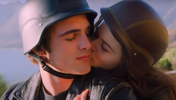 ¿Elle Evans y Noah Flynn continuarán juntos en la tercera película? Lo sabremos pronto (Foto: El stand de los besos 2 / Netflix)