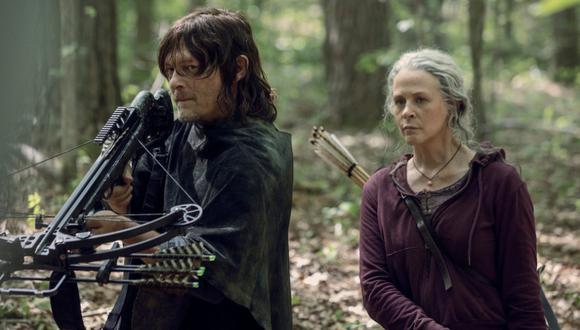 """Así se despidieron los protagonistas de la serie """"The Walking Dead"""". (Foto: AMC)"""