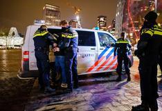 Coronavirus: altercados y arrestos en la primera noche de toque de queda en Países Bajos