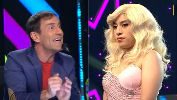 "Mauri Stern pone en aprietos a joven imitadora de Christina Aguilera en ""Yo Soy"". (Foto: Captura Latina)."