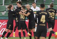 Barcelona derrotó 2-0 a Elche en la fecha 20 de LaLiga Santander [RESUMEN y GOLES]