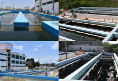 Tumbes: unas 23 mil familias tendrán mejor calidad de agua tras rehabilitación de planta El Milagro