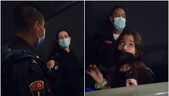 En México, madre e hija señalan por acoso a empleado de cine por pedirles que bajaran los pies. (Foto: makeup gris / YouTube)