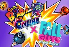 Videojuegos Super Bomberman R Online y Fall Guys se unen en colaboración especial