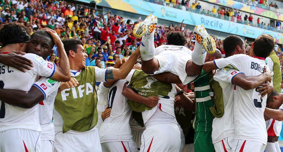 Italia vs. Costa Rica: las mejores postales a ras de campo - 1