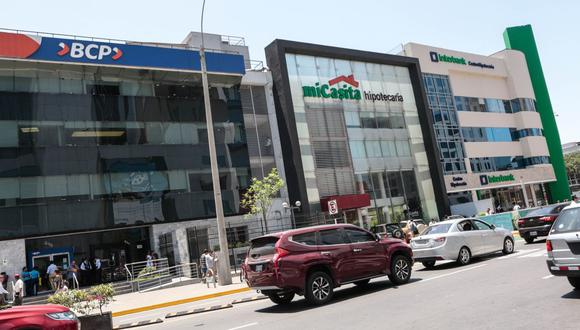 Bancos. (Foto: GEC)