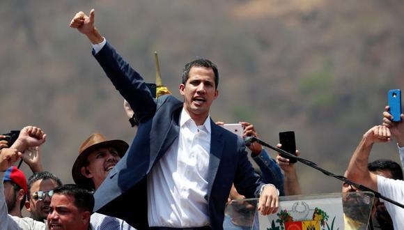 """Juan Guaidó pide a sus seguidores que mantengan la """"confianza"""" en ellos mismos. (Reuters)"""