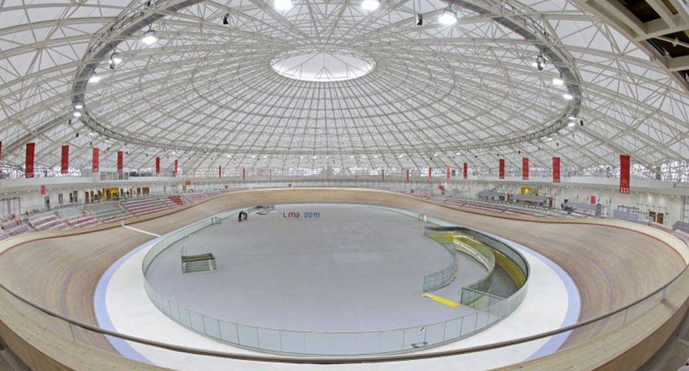 Villa Deportiva Nacional acogió nuevos escenarios para los Juegos Panamericanos Lima 2019. El velódromo es uno de ellos. (Foto: Difusión)